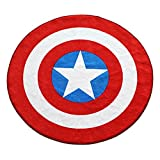 Marvel Captain America Shield Round Rug (52in)