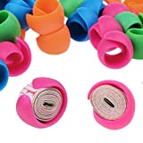 Peels Thread Spool Huggers for Sewing Machine to Prevent Thread Unwinding No Loose Ends or Thread Tails (100 PCS)