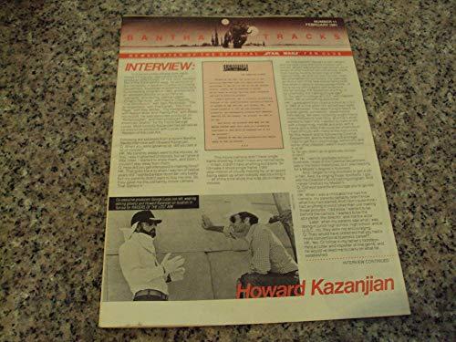 2 Iss Bantha Tracks Star Wars Fan Club # 11,12 1981 Steven Spielburg ()