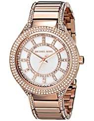 Michael Kors Kery MK3313 Women's Wrist Watches, Mother of Pearl Dial