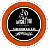 Twisted Pine Carameled Sea Salt Flavored Coffee, Single-Serve Cups for Keurig K-Cup Brewers, 24 Count offers
