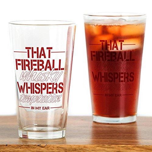 CafePress - Fireball Whisky - Pint Glass, 16 oz. Drinking (Fireball Glass)