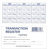 12 Check registers for Personal Checkbook