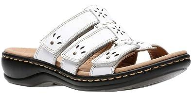 0fa3a4b9c748 CLARKS Leisa Spring Women s Sandal 5 B(M) US White