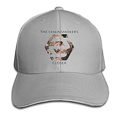 MARC Custom Closer The Chainsmokers Featuring Halsey Adult Trucker Caps Hat Ash