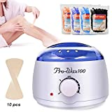 Kids Partner Wax Warmer Hair Removal Hair Waxing Kit, Professional Electric Heater Melts Hot Beads, Painless Rapid Wax of Face, Body, Bikini Area. Review