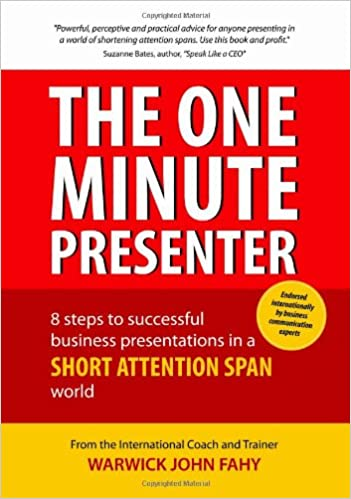 Buy The One Minute Presenter  8 Steps to Successful Business ... 62623948a9