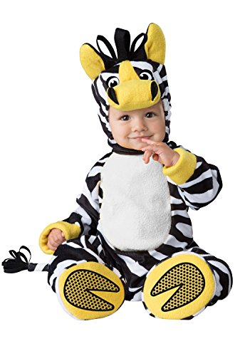 InCharacter Zany Zebra Infant Costume-Large (18-2T)