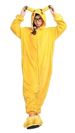 LATH.PIN Animal Carnaval Disfraz Cosplay Pijamas Adultos Unisex ...