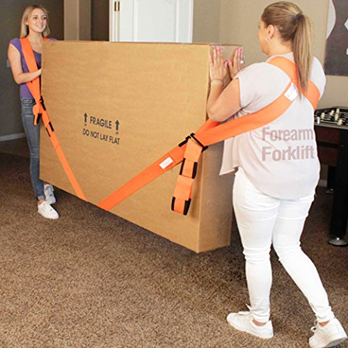 Forearm Forklift Harness, Complete Set, Pack of 2 | 2 Person Moving System | Lift furnishings Easily | Rated up to 800 lbs. by Forearm Forklift (Image #2)