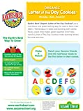 Earths Best Organic Cookies, Toddler Snacks, Very Vanilla, Sesame Street Letter of the Day, 5.3 Ounce (Pack of 6)