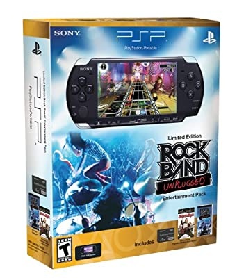 PlayStation Portable Limited Edition Rock Band Unplugged Entertainment Pack - Piano Black