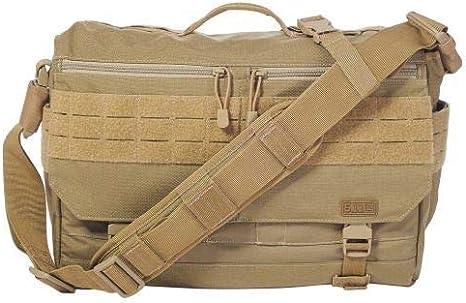 5.11 Rush Delivery Messenger Bag hombro bolsa, color 328 SANDSTONE, tamaño 28 (H) x 43 (B) x 10 (T) cm: Amazon.es: Informática