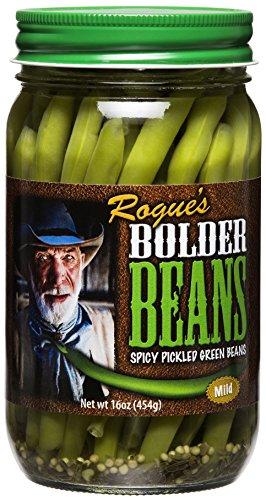 Snap Green Beans - Bolder Beans Pickled Green Beans - 3-Pack 16oz (Mild)