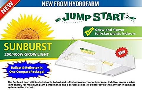 Sunburst HPS/MH Adjustable Digital Ballast Light Kit 250W/400W - Hydrofarm 400w Metal