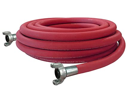 Black 150 Maximum Pressure Continental ContiTech 20243770 Other Heavy-Duty Contractors Coupled Water Hoses 0.5 Length 3//4 x 50