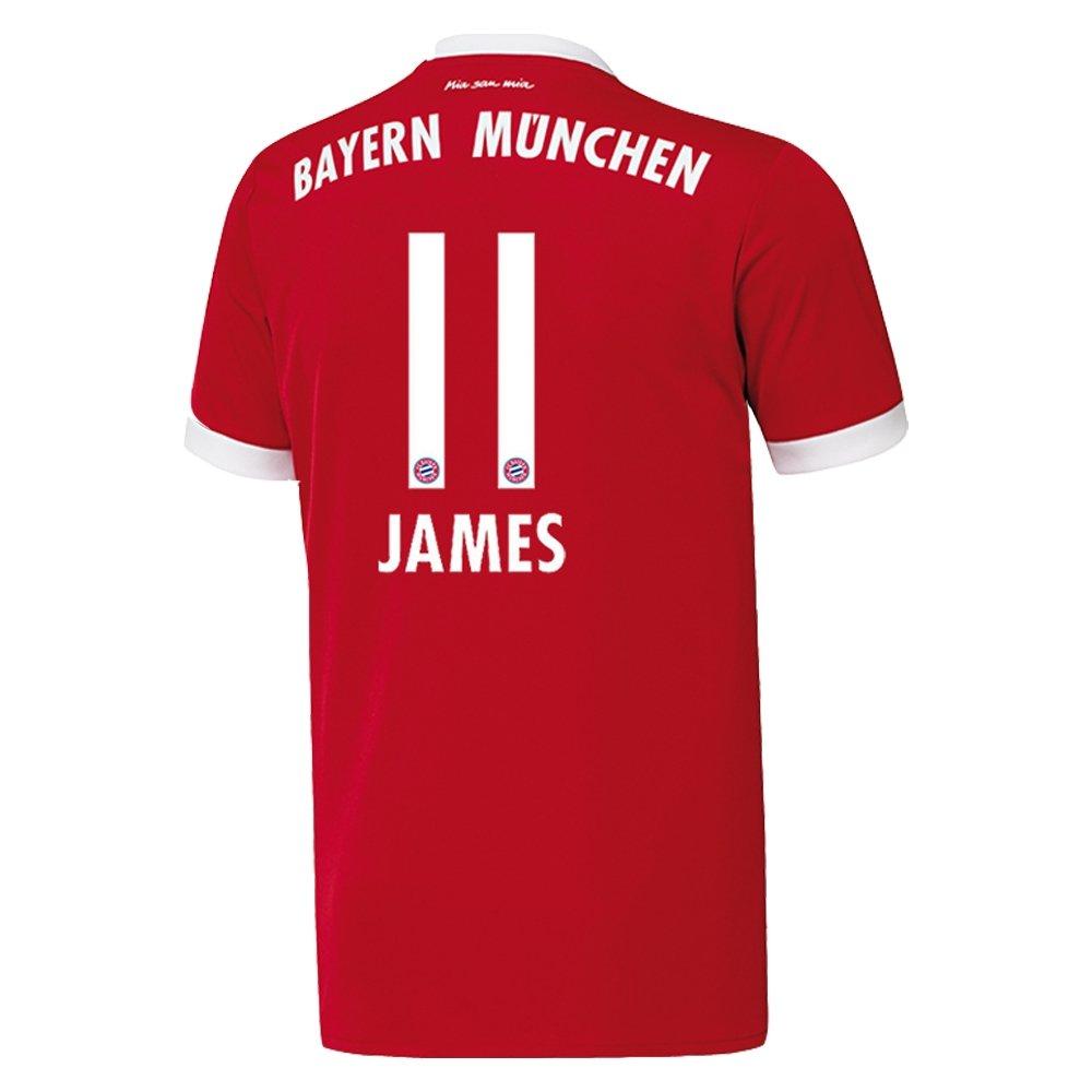adidas Bayern Camiseta Home Niños 2018 - James 11 b6bef61cbd5f1