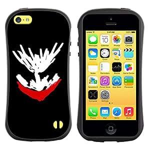 Suave TPU GEL Carcasa Funda Silicona Blando Estuche Caso de protección (para) Apple Iphone 5C / CECELL Phone case / / Mushroom Psilocybin Drawing /