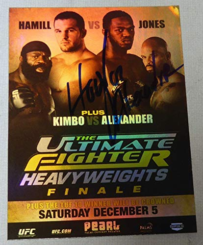 gned UFC Ultimate Fighter 10 2010 Topps Fight Poster Card - Autographed UFC Event Poster ()