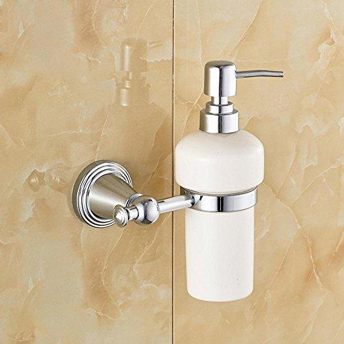 SSBY Copper, ceramic soap dispenser, soap dispenser bottle, chrome plated, gold-plated, antique bronze color sorting , Silver by Bathroomracks