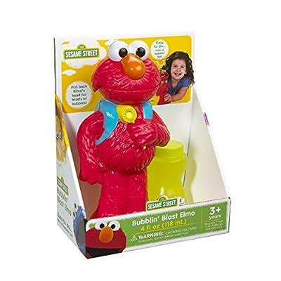 Little Kids Bubblin' Blast Elmo, Red: Toys & Games