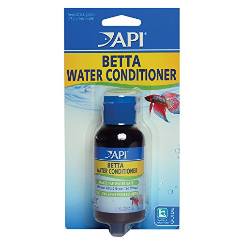 API BETTA WATER CONDITIONER Betta Fish Freshwater Aquarium Water Conditioner 1.7-Ounce Bottle