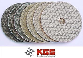 Disque Polissage Diamant/é /à Sec /Ø100x15mm KGS Swiflex XX Lot de 3 Grain 400