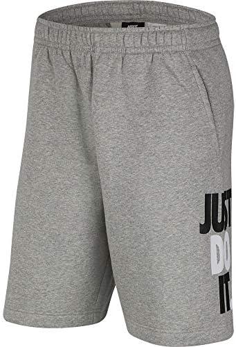 (ナイキ) JDI フリース BSTR ショート CJ4781-063SP20 (グレー/LL/Men's)