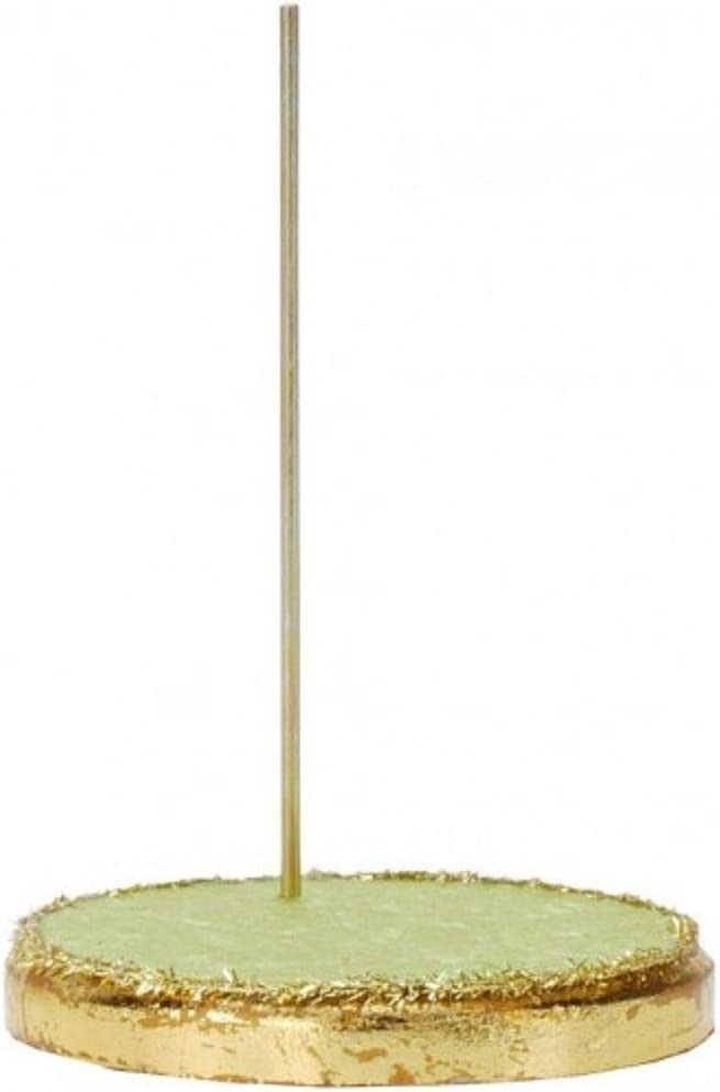Mark Roberts Green Moss Spring Fairy Stand for Small Fairies 7 Inches