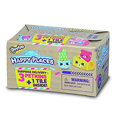 Moose Happy Places Shopkins S1 Surprise Delivery Cdu: Toys & Games