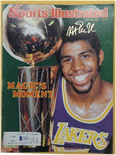 Magic Johnson Autographed Magazine Sports Illustrated May 26, 1980 Beckett COA