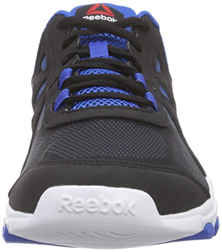 Reebok Sublite Train 4.0, Zapatillas de Deporte para Hombre Negro / Gris / Azul / Blanco (Black / Ash Grey / Blue Sport / White)