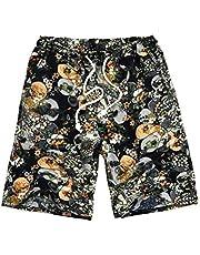Pantalones Cortos de Playa, Pantalones Cortos de Surf Hawaianos Ocasionales, Pantalones Cortos de Verano para Hombres, Good dress, 7#, 4XL