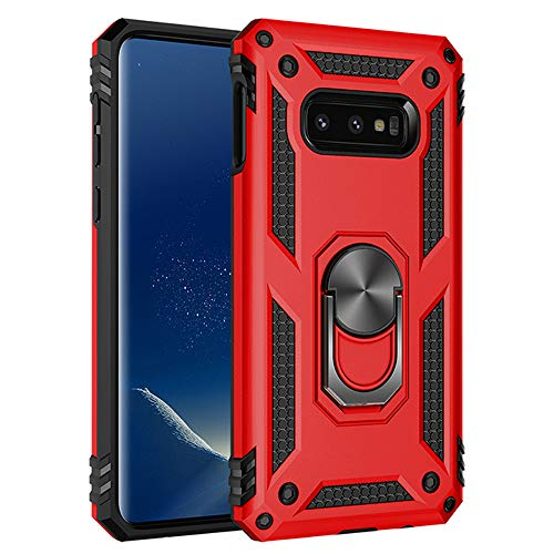 Ranyi Galaxy S10e Case, S10 Lite Case, Dual Layer Armor with Ring Holder [360 Degree Rotation Ring] [Kickstand Feature] Shock Absorbing Hybrid Bumper Case for Samsung Galaxy S10E (5.8
