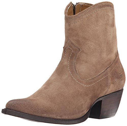 Frye Women's Sacha Short-OS Western Boot - Ash - 7 B(M) US