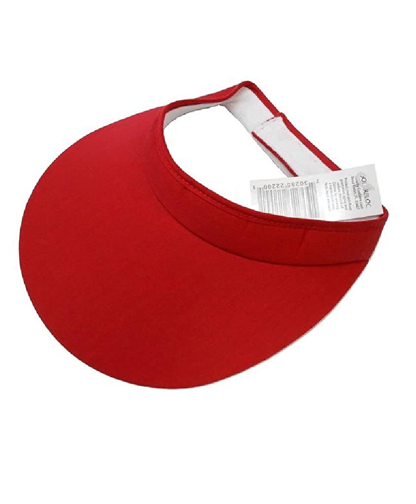 Extra Wide Brim Cloth Visor [style 222]