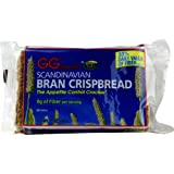 GG Unique Fiber Scandinavian Bran Crispbread -- 3.5 oz - 2 pc