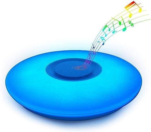 LED Rondell Decken Lampe Wohn Zimmer RGB Fernbedienung Kristall Spots dimmbar