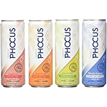 Phocus Caffeinated Sparkling Water (Variety Pack)