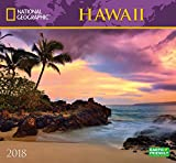 National Geographic Hawaii 2018 Wall Calendar