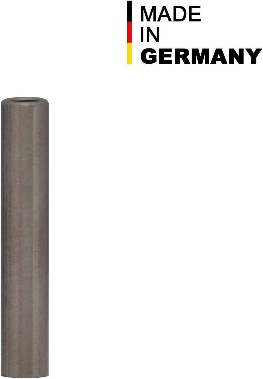FASTON Lot de 4 manchons d/écartement M4 en acier inoxydable A2 /Ø int/érieur 4 mm