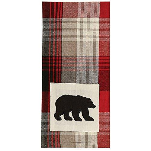 Park Designs Champlain Bear Applique Dishtowel