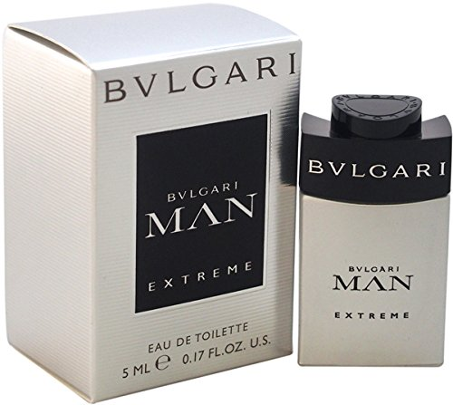 BVLGARI DLX Man Mini Extreme Cologne, 0.17 (0.17 Ounce Cologne Miniature)