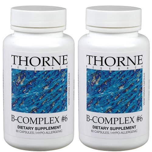 Thorne Research - B-Complex #6 120 VegiCaps by Thorne