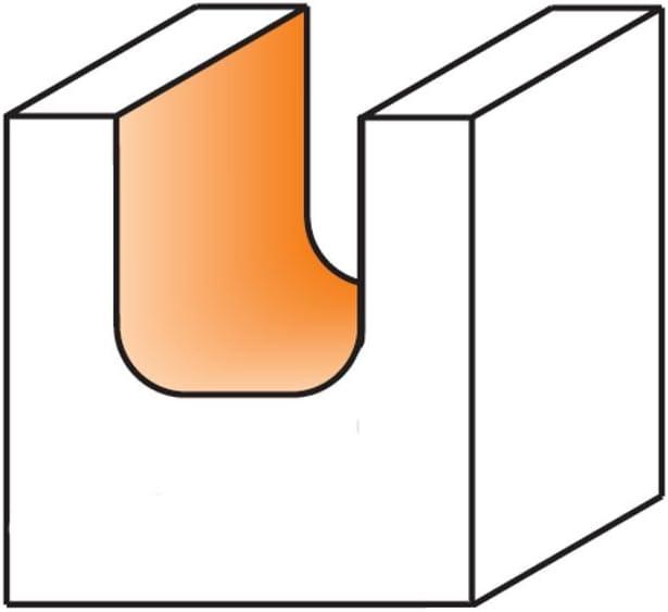 3//4-Inch Diameter 1//2-Inch Shank CMT 851.501.11 Bowl /& Tray Bit