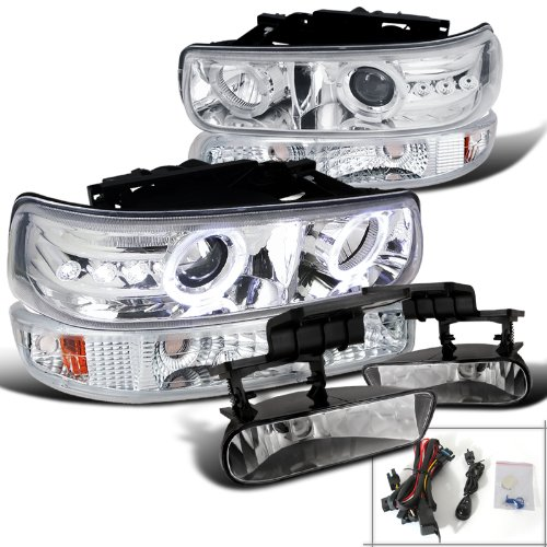 02 tahoe chrome headlights - 4