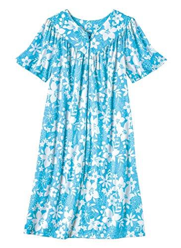 (AmeriMark Printed Zip Lounger Turquoise)