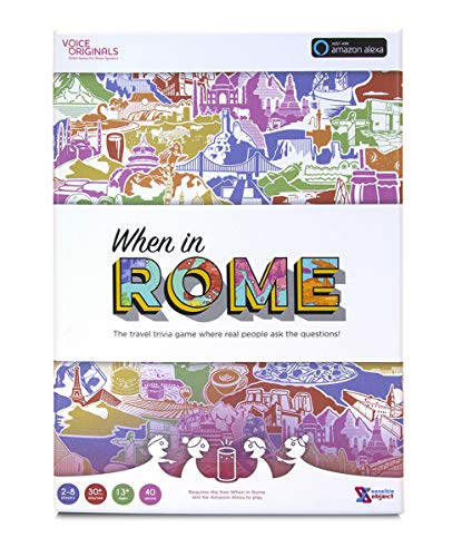 Voice Originals - When in Rome Travel Trivia Game Powered by Alexa]()
