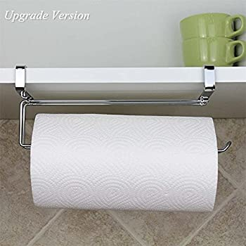 Pano Paper Towel Holder Under Cabinet Updated Size Stainless Steel Paper  Rolls Rack Organizer