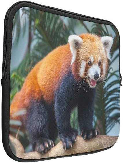 Unique Custom Beautiful Cute Red Panda Animal Print Men Laptop Briefcase Soft Girl Laptop Case Briefcase Protective for MacBook Air 11